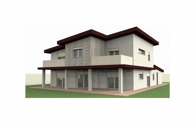 Cool progetto preliminare per la nuova costruzione di una for Progetto ville moderne nuova costruzione